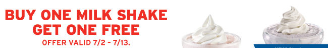 Denny's Printable Coupons: Buy 1 Milk Shake, Get 1 Free