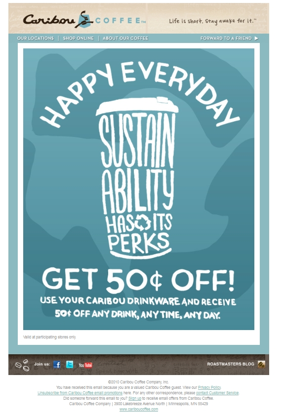 Save $0.50 On Any Drink  - Printable