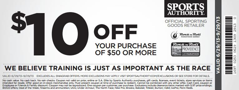 $10 off $50 - Printable