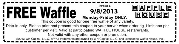 Free Waffle!