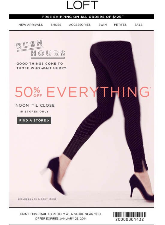50% off Everything (Printable)