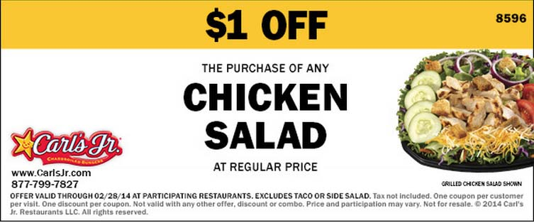$1 off Chicken Salad (Printable)