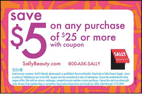 $5 off $25 (Printable)