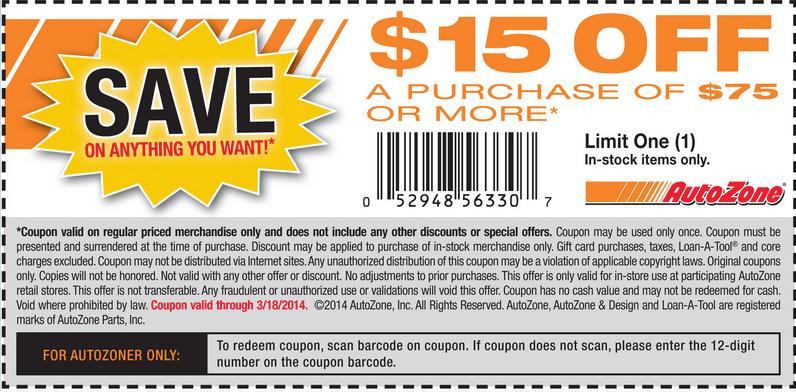 $15 off $75 (Printable)